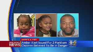 News video: Amber Alert For Missing Toddlers Taken By Dad After Mom Slain