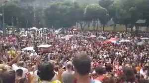 News video: Video Shows Rio Protests After Death Of Brazilian Rights Activist And City Councilwoman Marielle Franco