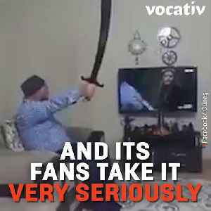 News video: People Watch This TV Series With Swords and Guns