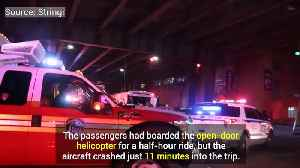 News video: Family Of NYC Helicopter Crash Sue Tour Operator