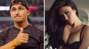 News video: Johnny Manziel Secretly Gets Married To SUPER Hot Model Bre Tiesi