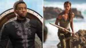 News video: 'Tomb Raider': Can it Dethrone 'Black Panther' at Weekend Box Office? | THR News