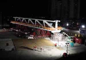 News video: Timelapse Shows Construction of FIU Bridge That Later Collapsed