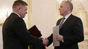 News video: Slovakia: PM Fico quits amid journalist murder crisis