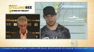 News video: SPELLING BEE CHALLENGE: San Jose Sharks Brenden Dillion Takes The Spelling Bee Challenge