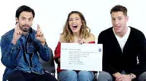 News video: This Is Us Cast Answers the Web's Most Searched Questions