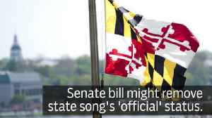 News video: Senate bill aims to strip state song of 'official' status