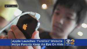 News video: Apple's New Families Page Details Ways To Monitor Kids' IPhone Use