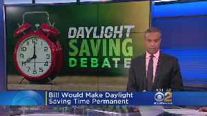 News video: Daylight Saving Time All The Time?