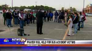 News video: Prayer vigil held for bus accident victims