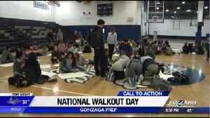 News video: Student organizers hold assembly to address gun violence and