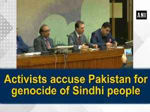 News video: Activists accuse Pakistan for genocide of Sindhi people