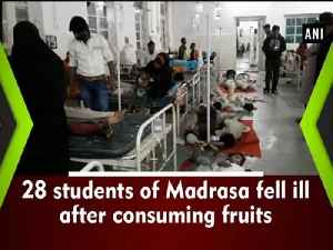 News video: 28 students of Madrasa fell ill after consuming fruits