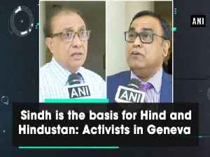 News video: Sindh is the basis for Hind and Hindustan: Activists in Geneva
