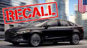 News video: Ford recalls 1.38 million cars for detachable steering wheels