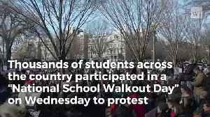 News video: Camera's Catch What Students' Real Mission Was During National Walkout Day