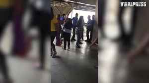 News video: Cabbie Fighting Security Guards