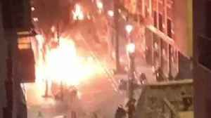News video: Unrest in Madrid Following Reports of Immigrant Street Vendor's Death