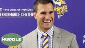News video: Kirk Cousins' REAL Reason For Signing With Vikings: Is He OVERRATED? | Huddle