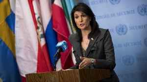 News video: Nikki Haley Says US Will Call for New Cease-fire in Syria