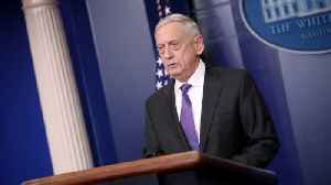 News video: Mattis Makes Unannounced Visit to Afghanistan, Talks Taliban