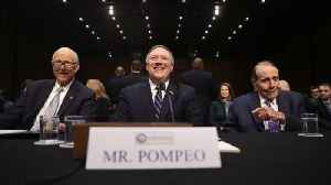 News video: Mike Pompeo Nomination Hearing for State Secretary in April