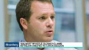 News video: Walmart Whistle-Blower Claims Retailer Cheated to Catch Amazon