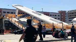 News video: 4 People Dead After Florida Bridge Collapses