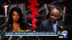 News video: Council is against investigating Denver's mayor, doesn't want to re-victimize woman