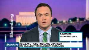 News video: U.S. Sanctions Russians Charged by Mueller for Election Meddling