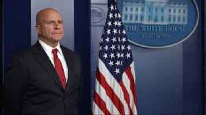 News video: White House: H.R. McMaster Isn't Getting Fired