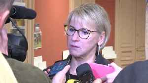 News video: Sweden says happy to help on N.Korea amid summit speculation