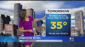 News video: WBZ Mid Morning Forecast For March 16, 2018