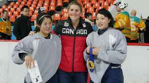 News video: Hayley Wickenheiser's hockey training mission in North Korea