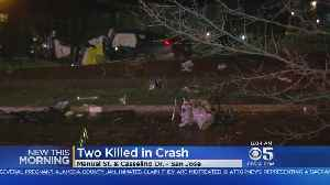 News video: 2 Dead In Overnight Crash In San Jose