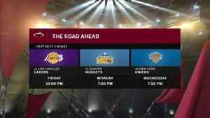 News video: Heat close out road trip against Lakers
