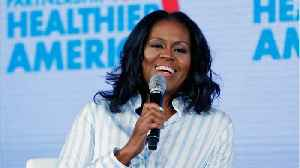 News video: Michelle Obama Has A Daily Habit That's All About Happiness