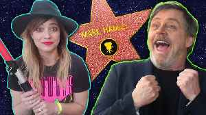News video: Mark Hamill Super Fans See Their Hero Get His Hollywood Star | NerdWire Presents