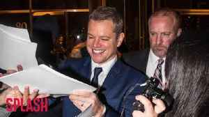 News video: Matt Damon Reportedly Wants to Move Family to Australia