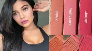 News video: Kylie Jenner SLAMMED for Inappropriate Blush Names... AGAIN