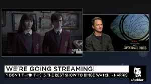 News video: Neil Patrick Harris Doesn't Want You to Binge Watch His Show