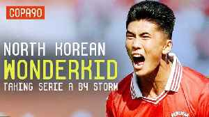 News video: The North Korean Wonderkid Wanted By Juventus