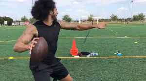 News video: Colin Kaepernick Is Getting READY for NFL Comeback!