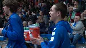 News video: Basketball Players Invite Team Manager With Autism Onto the Court