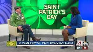 News video: Missouri's own David Koechner is grand marshal of St. Patrick's Day Parade