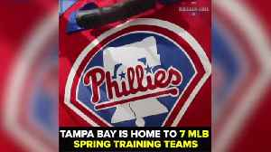 News video: Tampa Bay is home to 7 MLB Spring Training teams | Taste and See Tampa Bay