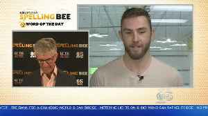 News video: SPELLING BEE CHALLENGE: San Jose Sharks rightwinger Barclay Goodrow takes the spelling bee challenge