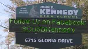 News video: Kennedy High In Sacramento Evacuated Because Of Threatening Text Message