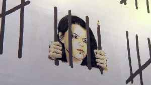 News video: Banksy protests imprisonment of Turkish artist