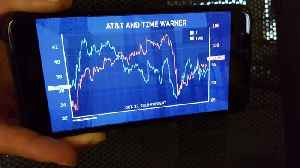 News video: CHARTS: How AT&T and Time Warner Shares Performed Amid Deal Uncertainty
